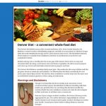 How to lose weight and get healthy on a high-fiber...